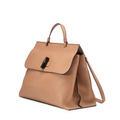 ff929f65794e Bamboo Daily leather top handle bag Gucci Crossbody Bag, Gucci Bamboo, Work  Bags,