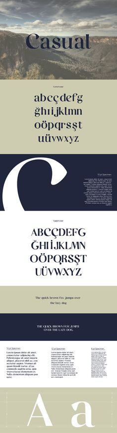 Casual-Free-Serif-Typeface