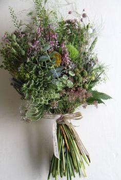 """Hand Tied """"Wildflower"""" Wedding Bouquet"""