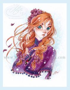 [Fan arts] La Reine des Neiges - Page 12