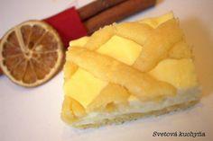 Tvarohový mřížovník Pineapple, Mango, Cheesecake, Sweets, Baking, Fruit, Food, Recipes, Manga