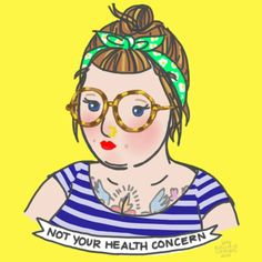 Rachele Cateyes' 'Glorifying Obesity' Illustrations Fight Fatphobia, One Adorable And Body Positive Step At A Time Body Love, Loving Your Body, Nice Body, Positive Art, Positive Body Image, Fat Positive, Positive Affirmations, Positive Vibes, Fat Acceptance