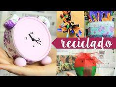 Manualidades con material reciclado / Megatuto ESPECIAL ✎ Craftingeek - YouTube