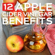 12 Benefits of Apple Cider Vinegar- lowers blood pressure, effective acne treatment & much more.