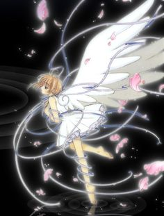 Girly Angel Anime Swirl Picture And Wallpaper
