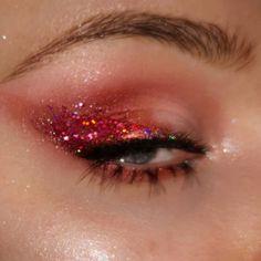 Makeup Eye Looks, Cute Makeup, Pretty Makeup, Eye Makeup Art, Colorful Eye Makeup, Eyeshadow Makeup, Beauty Makeup, Dark Skin Makeup, Makeup Eyes