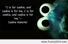 Cookie monster 2014 quote
