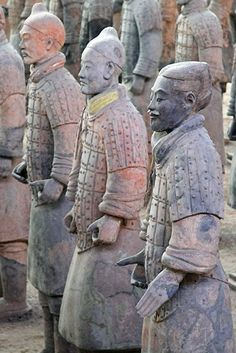 Terra Cotta Warriors - X'ian, China  http://www.beijinglandscapes.com/xian-tour.html