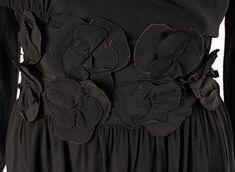 Dress (image 3 - detail) | Madeleine Vionnet | French | 1918 | silk | Metropolitan Museum of Art | Accession Number: C.I.52.18.7