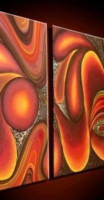 Abstract orangeness