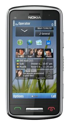Nokia C6-01 Unlocked GSM Phone with 8 MP Camera, 720p Video Recording, and Ovi Maps Navigation–U.S. Version with Warranty (Silver)