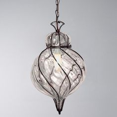 Captured Glass Pendant Light  pendant lighting