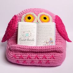 Suzi Crochet Book Tablet Holder