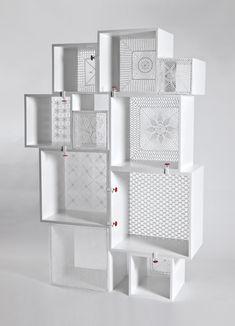 Assemblage Tricot - Seletti crochet storage unit