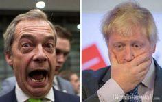 """Апофеоз безответственности: брекзитеры наперебой убегают от своей победы http://ukrainianwall.com/blogosfera/apofeoz-bezotvetstvennosti-brekzitery-napereboj-ubegayut-ot-svoej-pobedy/  Найджел Фарадж (слева) и Борис Джонсон Второй босс """"Брекзита"""" – Найджел Фарадж – объявил о своей отставке с поста главы UKIP. Говорит, раньше я хотел вернуть страну людям, а теперь"""