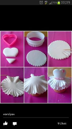 Cup cake idea -love it