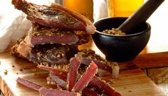 Spicy Biltong Spice Combinations, Good Food, Yummy Food, Delicious Recipes, Biltong, South African Recipes, Cheap Meals, Spicy, Cooking Recipes