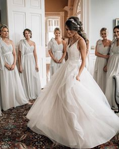 Bridesmaids First Looks are the best We cannot wait to see more from these stunning wedding photos captured by Wedding Day Wedding Planner Your Big Day Weddings Wedding Dresses Wedding bells Tulle Wedding, Wedding Pics, Wedding Bells, Wedding Gowns, Dream Wedding, Wedding Venues, Summer Wedding, Wedding Ceremonies, Wedding Ideas