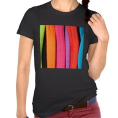 Bright Colours stripes Tee Shirt Customise the stripes....   for casual occasions, with jeans      Janet