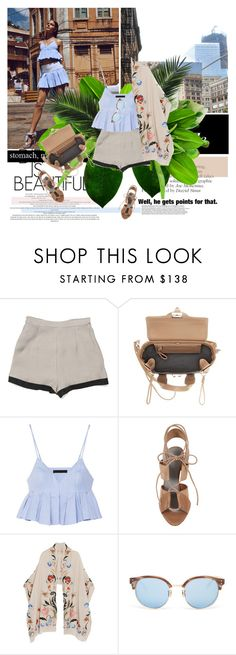 """""""Well, he gets points for that 15/08/2015"""" by azi-izbassarova ❤ liked on Polyvore featuring Secret Squirrel, 3.1 Phillip Lim, Alexander Wang, Temperley London, Linda Farrow, summerstyle, kimono and summer2015"""