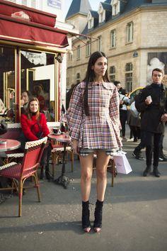Gilda Ambrosio - Couture SS16 Week, Paris Street Style