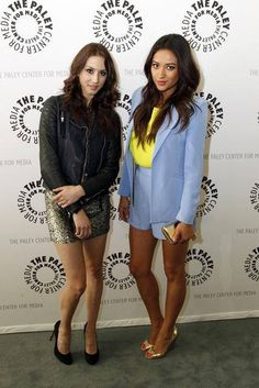 Troian and Shay at The Paley Center for Media in Los Angeles!