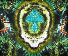 Steal Your Face heavyduty tiedye tapestry 5'x6' by MadebyFreaks, $60.00