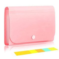 izBuy Expanding File Folder, 12 Pockets Subdivision Accordion File Folder Mini Organizer PP Wallet for Inches,with Tabs and Cute Stationery, Stationary, File Folder Organization, School Suplies, Savings Box, Fancy Dress Design, Black And White Wallpaper, Baby Girl Dolls, Tablet
