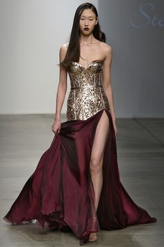 Steven Khalil at New York Fashion Week