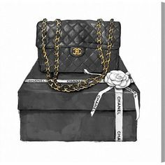 SHOPPING DIARIES: CHANEL 2.55 FLAP BLACK BAG
