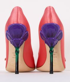 PRADA HEELS - I normally don't like anything too crazy and out there with heels, but these are pretty.