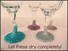 Add Some Glitter to Your Glasses! | Fabulously Flawed