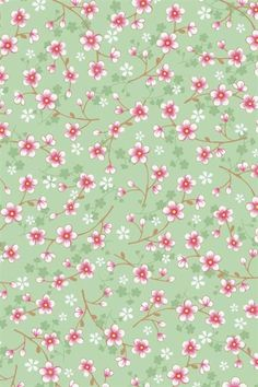 Cherry blossom green