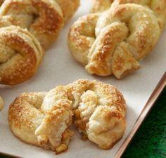 Apple Stuffed Pretzels