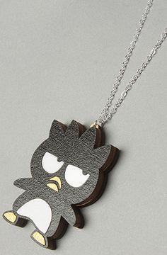 love this grumpy badtz-maru necklace.