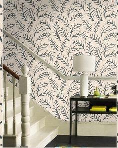 Sanderson - Matisse Leaf wallpaper - design indulgence: FAVORITE WALLPAPERS