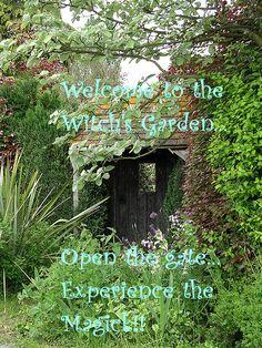 secret garden cottage garden Brought t - gardencare The Secret Garden, Hidden Garden, Secret Gardens, Witch Cottage, Stone Cottages, Modern Garden Design, Garden Gates, Dream Garden, Garden Inspiration