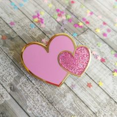 Heart Enamel Pin by