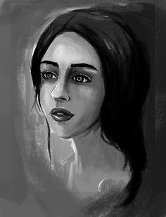 Empty glance by Diana Nemesu