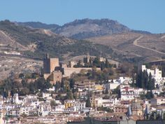 (alta Andalucía) GRANADA - situada al pie de la SA. Nevada