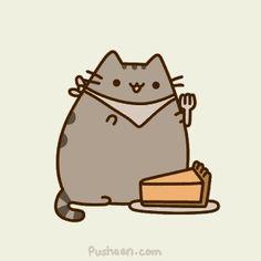 Pie pusheen!