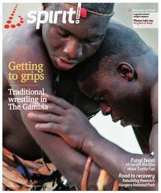 Traditional wrestling is making a comeback in The Gambia. Read all about it in the September-October edition of Brussels Airlines' Bspirit magazine.