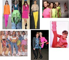 80 fashion==LIst of 10!!!  NOTE TO SELF==PRINT OUT LIST