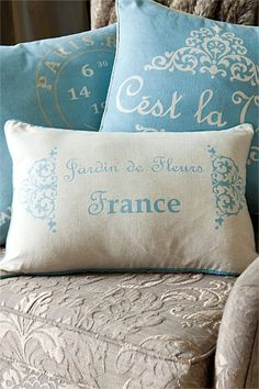 Elegant French Pillows
