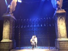 Harry Potter / Warner Bros Studio Tour. Hogwarts gates  Where I want to be proposed to.