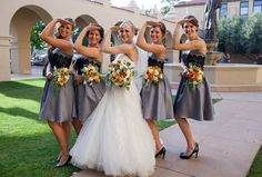 """You begin as sisters, become best friends, and almost always become bridesmaids."" ITB <3"