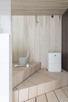 Interior Simple, Scandinavian Interior Design, Home Interior, Interior Ideas, Sauna Design, Inside A House, Finnish Sauna, Sauna Room, Spa Rooms