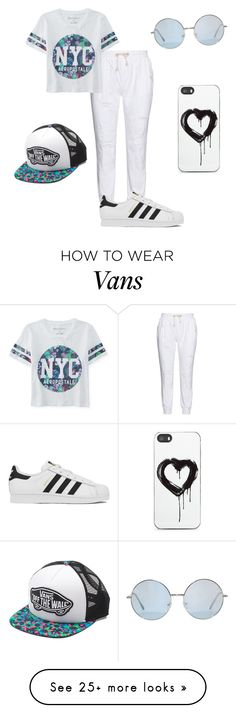 """""""Random"""" by tianna-rose-richardson on Polyvore featuring 17 Sundays, Aéropostale, adidas, Vans, Zero Gravity, women's clothing, women, female, woman and misses"""