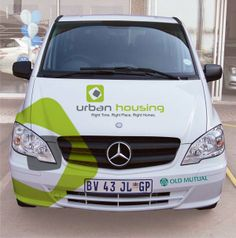 #Urban Housing Company #Van Signage...http://www.fabgraphics.co.za/