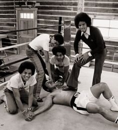 Muhammad Ali vs Jackson Five